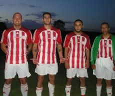 Marcus Tidblom, Domingos Mestre, Saidjad Nouri och Ahmed Al-Hakany