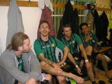 Robin, Jonas, Micke och Morteza