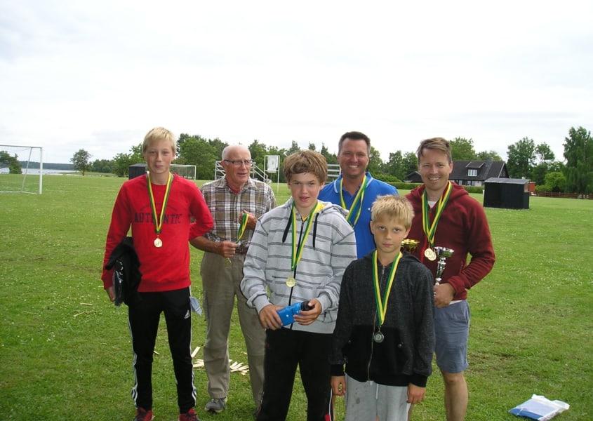 Jonathan, Sune, Wille, Tommy, Rasmus och Kenneth