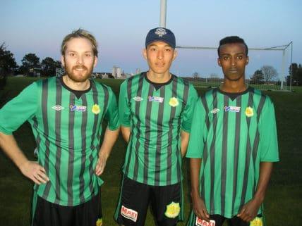 Robin, Murre och Khalid