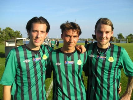 Matchens tre KIK-målskyttar