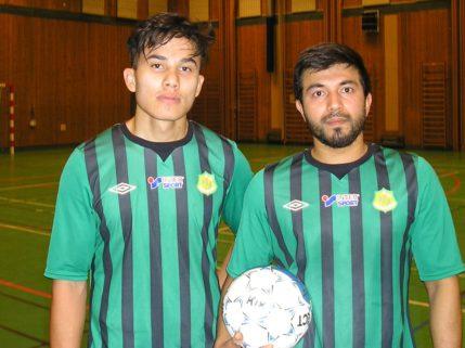 Danial och Mehdi